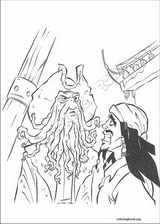 Pirates Of The Caribbean coloring page (018)