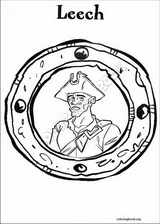 Pirates Of The Caribbean coloring page (019)