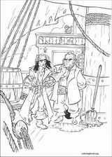 Pirates Of The Caribbean coloring page (024)