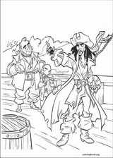 Pirates Of The Caribbean coloring page (026)
