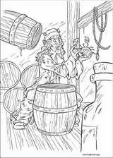 Pirates Of The Caribbean coloring page (027)
