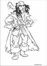 Pirates Of The Caribbean coloring page (031)