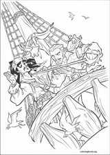 Pirates Of The Caribbean coloring page (037)
