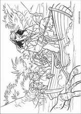 Pirates Of The Caribbean coloring page (039)