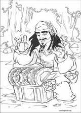 Pirates Of The Caribbean coloring page (041)