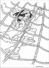 Pirates Of The Caribbean coloring page (047)