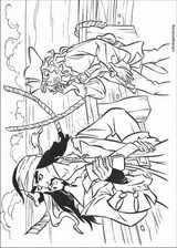 Pirates Of The Caribbean coloring page (048)