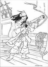 Pirates Of The Caribbean coloring page (052)