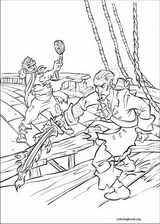 Pirates Of The Caribbean coloring page (054)