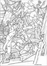 Pirates Of The Caribbean coloring page (055)
