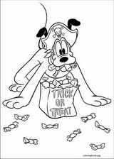 Pluto coloring page (023)