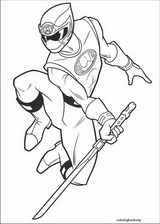 Power Rangers coloring page (007)