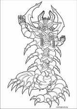 Power Rangers coloring page (008)