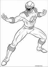 Power Rangers coloring page (012)