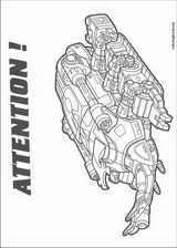 Power Rangers coloring page (013)