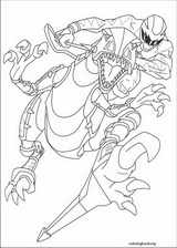 Power Rangers coloring page (016)