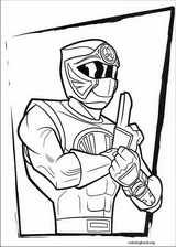 Power Rangers coloring page (024)