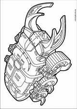 Power Rangers coloring page (025)