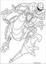 Power Rangers coloring page (033)