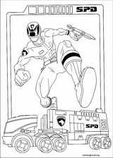 Power Rangers coloring page (036)