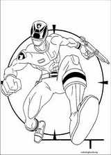 Power Rangers coloring page (040)