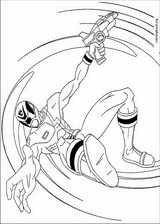 Power Rangers coloring page (042)