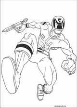 Power Rangers coloring page (049)