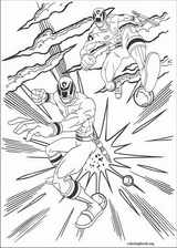 Power Rangers coloring page (054)