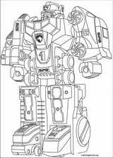 Power Rangers coloring page (056)