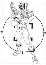 Power Rangers coloring page (060)
