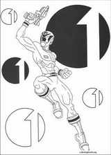Power Rangers coloring page (061)