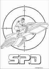 Power Rangers coloring page (071)