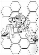 Power Rangers coloring page (072)