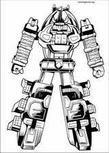 Power Rangers coloring page (074)