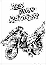 Power Rangers coloring page (075)