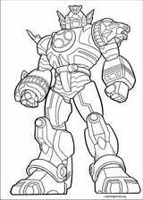 Power Rangers coloring page (083)