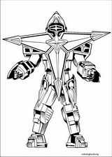 Power Rangers coloring page (084)