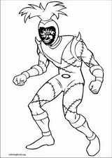Power Rangers coloring page (087)