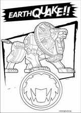 Power Rangers coloring page (088)