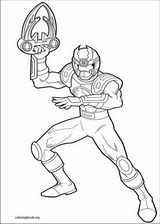 Power Rangers coloring page (091)