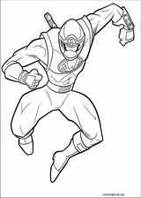 Power Rangers coloring page (103)