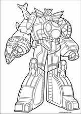 Power Rangers coloring page (104)