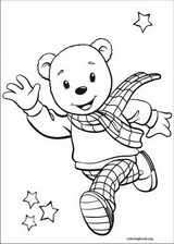 Rupert Bear coloring page (001)