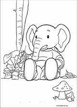 Rupert Bear coloring page (006)