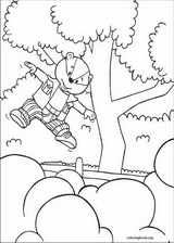Rupert Bear coloring page (009)