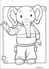 Rupert Bear coloring page (011)