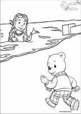 Rupert Bear coloring page (012)