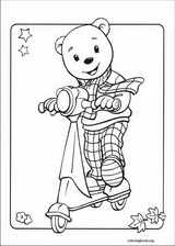 Rupert Bear coloring page (015)