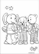 Rupert Bear coloring page (017)