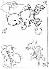 Rupert Bear coloring page (018)